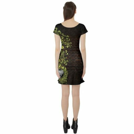 Back of Looking Glass Tunic Dress