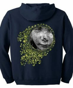 Looking Glass Hoodie with Zipper