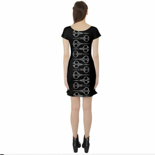 Back of Running With Scissors Tunic Dress